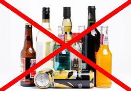 Evitar bebidas alcoholicas