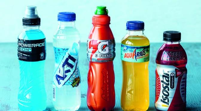 informacion nutricional bebidas isotonicas