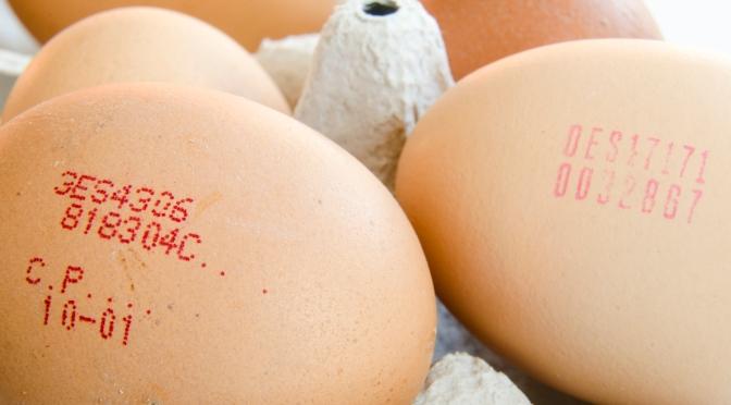 ¿Qué información ofrece el código de los huevos?
