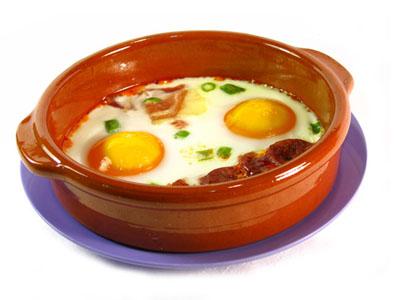 Huevo al plato