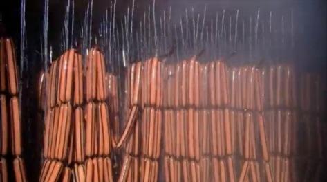 Ahumar salchichas
