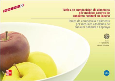 Tabla de composicion de alimentos