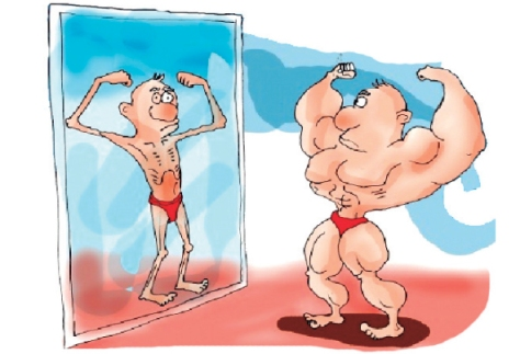 Vigorexia espejo